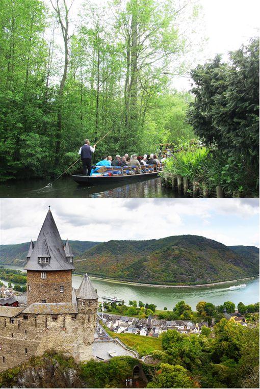 史普雷河森林遊船+萊茵河