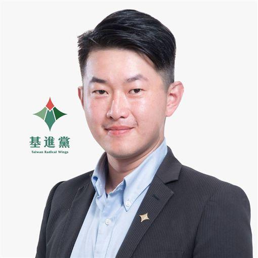 3Q陳柏惟,基進黨發言人 圖/翻攝自陳柏惟臉書