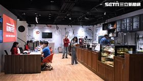遠傳電信,路易莎咖啡,中壢實踐複合體驗門市,數位體驗咖啡館,遠傳,路易莎