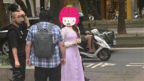 近日野生三上悠亞在晶華酒店附近被捕獲。(圖/翻攝自爆料公社臉書)