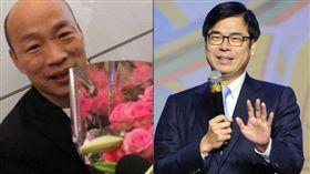 韓國瑜,陳其邁 圖/高市府提供,陳其邁臉書