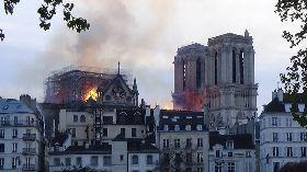 猛烈火勢侵襲巴黎聖母院  恐面臨長期