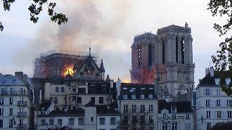 聖母院慘遭祝融 中國官媒要法國究責