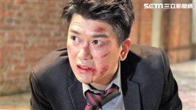 潘逸安拍新戲太跩遭慘扁。(圖/艾迪昇提供)