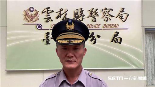 台西分局五組組長李慶輝/記者廖宜德攝
