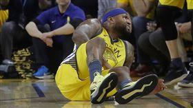 NBA/表弟傷退!最嚴重恐肌肉撕裂 NBA,金州勇士,DeMarcus Cousins,受傷 翻攝自推特