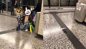 香港,地鐵,公德心,尿尿,月台(圖/翻攝自臉書生仔要考牌系列)