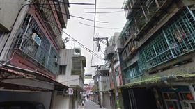 台北市延平北路五段83巷內街景(翻攝Google Map)