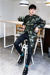 林哲熹接受三立新聞網專訪。(記者林士傑/攝影)