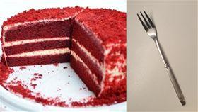 蛋糕 叉子 圖 PIXABAY 記者林呈育攝