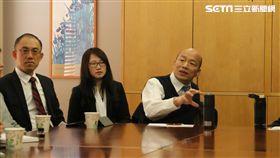 韓國瑜與史丹佛學生座談照