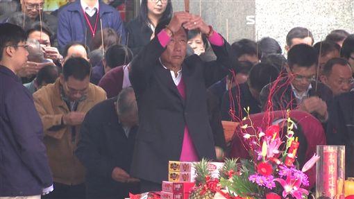 郭台銘是媽祖虔誠信徒。(資料畫面,非4/17)