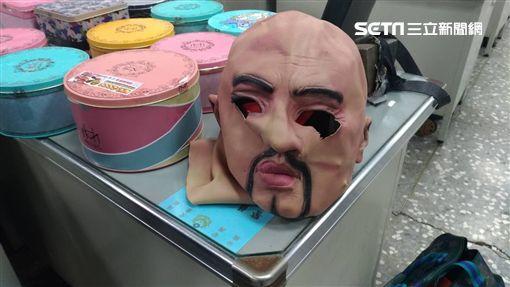 柯文哲,娃機,竊盜,台南,面具,新營