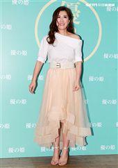小禎瘦身成功大方秀出裸妝感,水嫩肌齡超逆天。(記者邱榮吉/攝影)