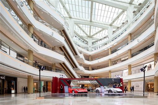 ▲Ferrari上海快閃店。(圖/Ferrari提供)
