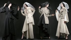2019金點新秀設計獎入圍名單已公布,時尚設計類入圍作品「尋日無常」,以風格優雅又前衛的系列服裝設計,詮釋生命的尋常與無常。