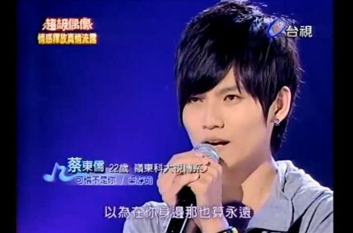(圖/翻攝自YouTube)超級偶像,超偶,蔡東儒