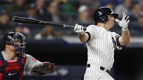 ▲賈納(Brett Gardner)生涯百轟是發大滿貫,幫助洋基逆轉5:3擊敗紅襪。(圖/美聯社/達志影像)