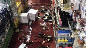宜蘭,地震,五級,賣場,紅酒,地牛