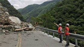 花蓮6.1地震,中橫遊客遭落石砸傷(非0418地震勿用)