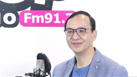 朱立倫接受孫大千廣播專訪,《POP搶先爆》提供