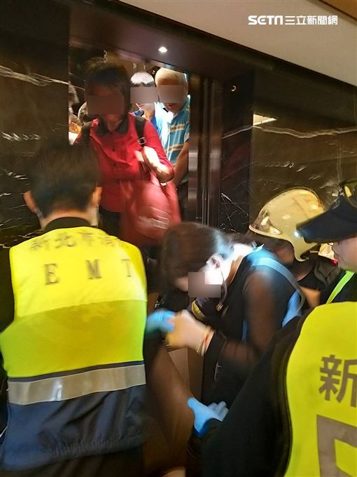 新北市,林口,花蓮,地震,電梯受困