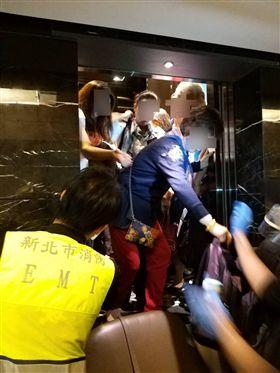 地震,新北市,受困,受傷,消防局。