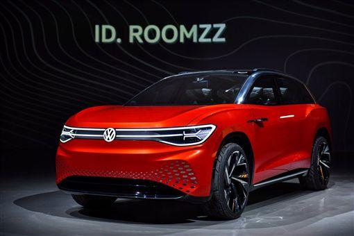 ▲Volkswagen ID. ROOMZZ。(圖/Volkswagen提供)