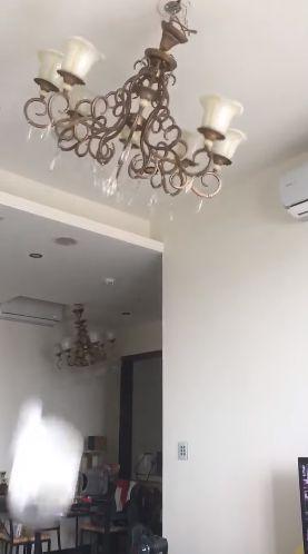 26層 26樓 地震 (圖/臉書)