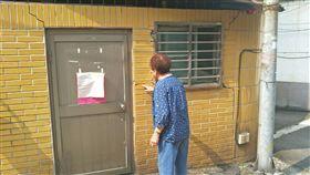 ▲海砂屋「全家福社區」社區18日因地震再震出3公尺裂縫(圖/住戶提供)