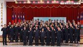 蔡英文總統18日出席「全國新式警便服換裝典禮」。(記者邱榮吉/攝影)