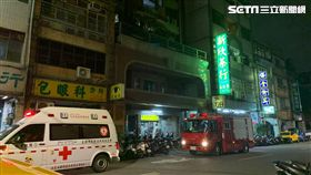 台北市大同區保安街甲苯氣體外洩現場(讀者提供)