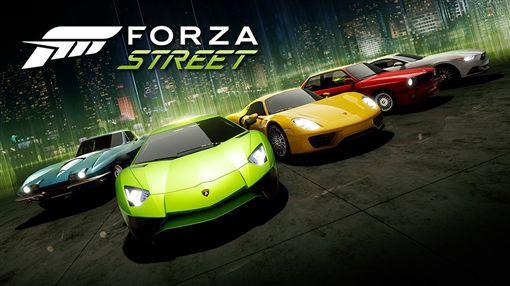 ▲電玩Forza Street極限競速街頭賽。(圖/Microsoft提供)
