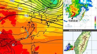 防劇烈天氣!吳德榮:清晨颮線襲南台