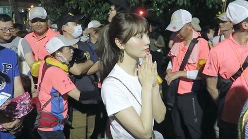 池端玲名,池端レイナ,大甲媽,遶境 (圖/翻攝自YouTube)