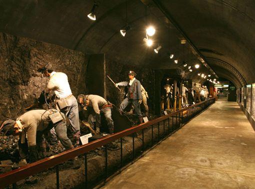 日本北海道夕張市「煤礦博物館」。(圖/翻攝自夕張旅遊官網)