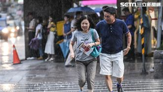 午後對流旺!各地降雨持續、高溫悶熱
