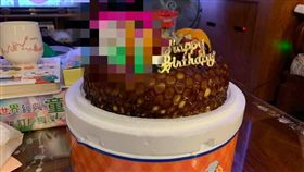 生日蛋糕,蠟燭,慶生,店員(圖/翻攝自爆怨公社)