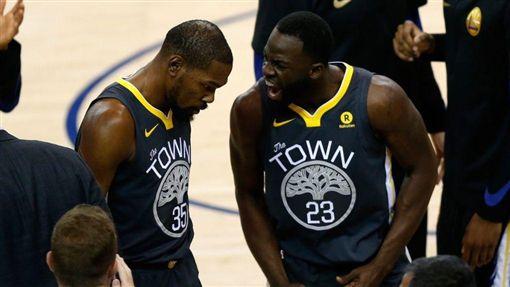 嗆杜蘭特「婊子」 勇士禁賽格林1場NBA,金州勇士,Draymond Green,Kevin Durant,禁賽翻攝自推特