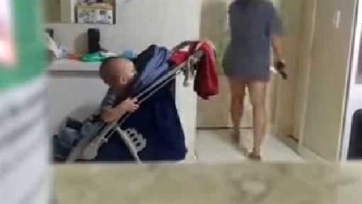 保母跟老公啪啪!正宮怒轟4槍(圖/翻攝自YouTube)