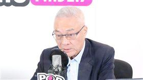 《POP搶先爆》代班主持人:孫大千來賓:國民黨黨主席 吳敦義,《POP搶先爆》提供