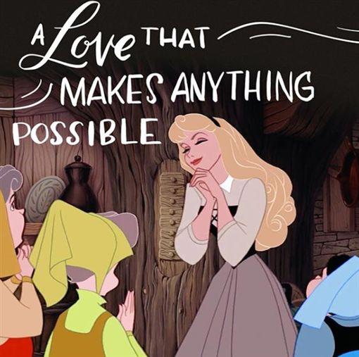 迪士尼公主,十二星座,莫娜,愛麗兒,花木蘭,梅莉達,奧蘿拉,樂佩(圖/翻攝自thedisneyprincesses IG)
