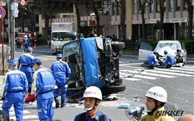 日本,東池袋,車禍(圖/翻攝自推特)