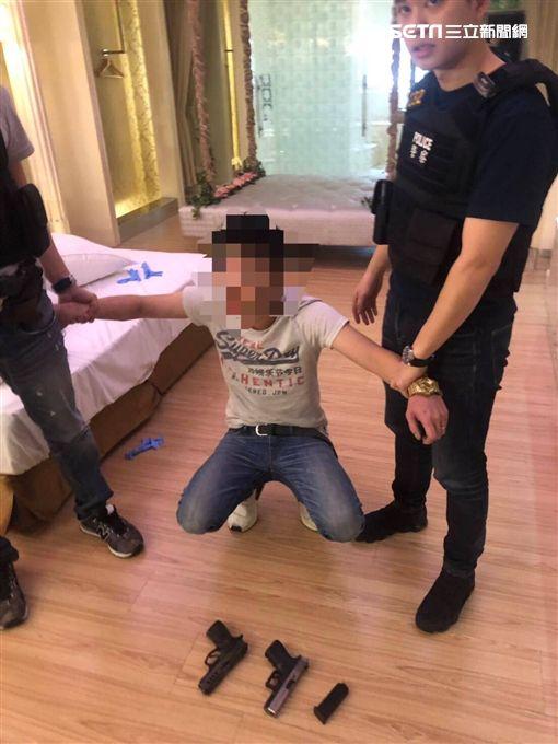 台北市,中山分局,槍枝,旅館,雙槍俠