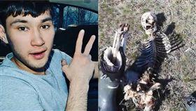 (圖/翻攝自DailyNewsUSA YouTube)俄羅斯,烏茲別克,凍死,白骨,綁架