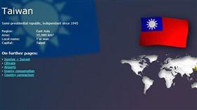 要崩潰了?外國網站認台灣1945年來獨立 網:這是事實▲。(圖/翻攝自WorldData)