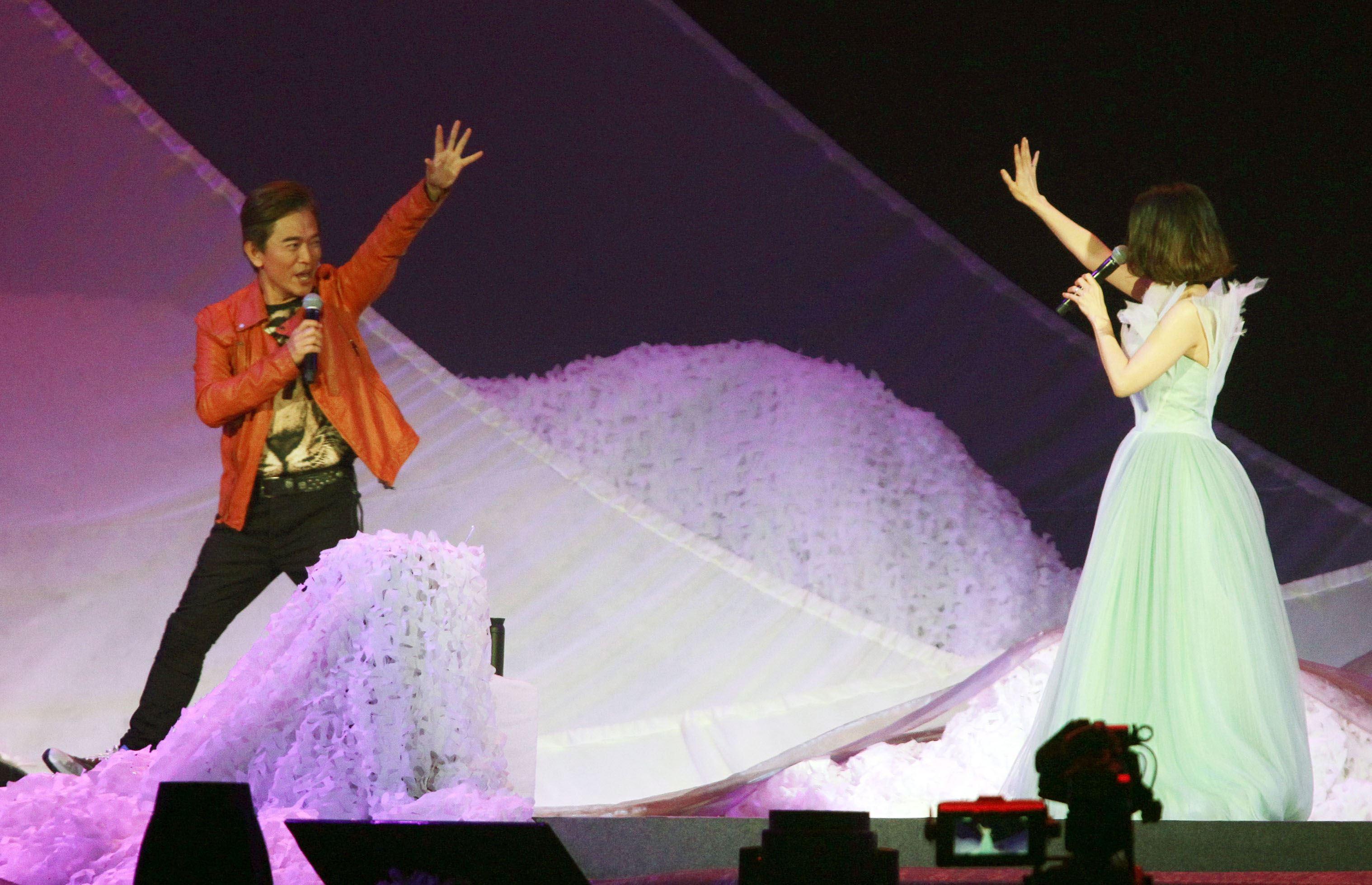 許茹芸「綻放的綻放的綻放」巡迴演唱特別嘉賓吳宗憲。(記者邱榮吉/攝影)