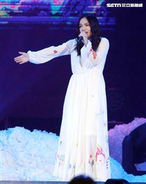 許茹芸「綻放的綻放的綻放」巡迴演唱特別嘉賓徐佳瑩。(記者邱榮吉/攝影)