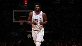 Joel Embiid。(圖/翻攝自NBA官方推特)