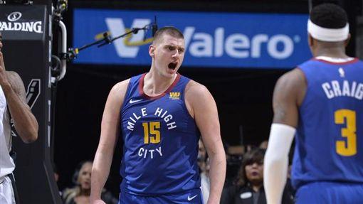 Nikola Jokic。(圖/翻攝自NBA官方推特)